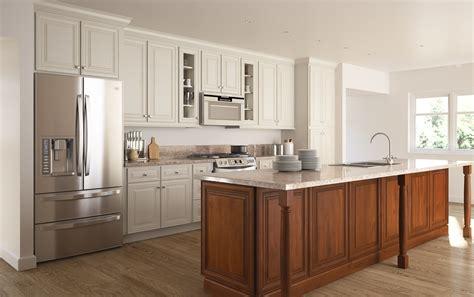 antique glaze kitchen cabinets cambridge antique white glaze ready to assemble kitchen