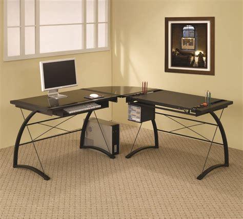 modern corner computer desk design ideas for home office