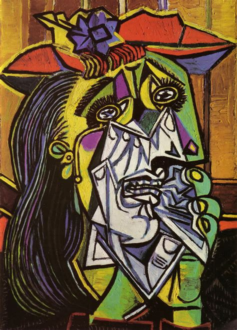 picasso paintings the weeping weeping 1937 pablo picasso wallpaper image