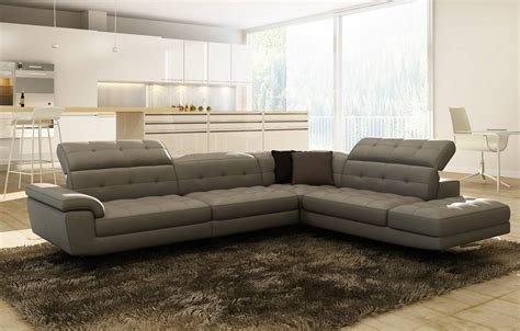 modern leather sofas and sectionals contemporary italian leather sectionals birmingham