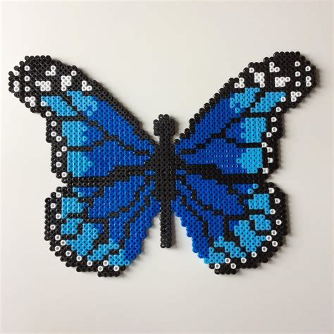 hama bead butterfly pattern butterfly hama by the creative girls perler bead