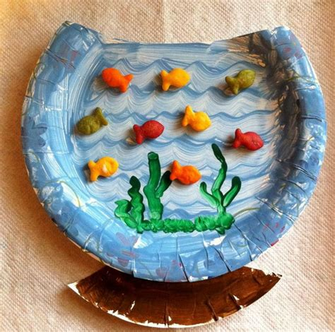paper fish bowl craft dr seuss crafts for hative