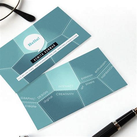 how to make a personal business card personal business card 65 exles web graphic