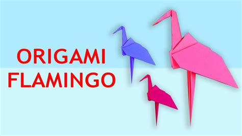 origami flamingo how to make origami flamingo origami flamingo