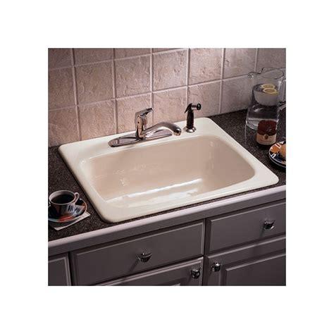 eljer kitchen sink faucet 2121084 83 in almond by american standard