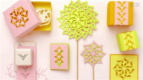 cut and fold paper crafts create beautiful paper craft projects using the martha