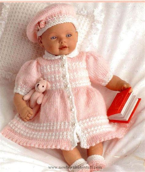 free 12 inch doll knitting patterns baby knitting patterns doll or prem baby knitting pattern