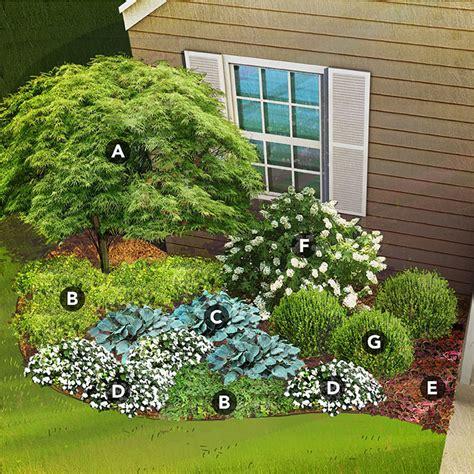 flowers shade garden shade garden plans by region