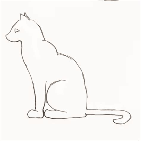 cat simple how to draw a cat step by step