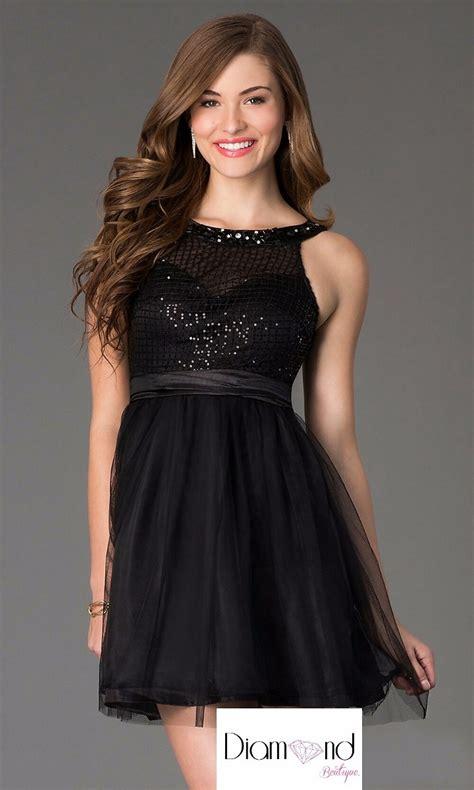 vestidos de fiesta negro corto vestido de noche fiesta graduaci 243 n negro corto tul