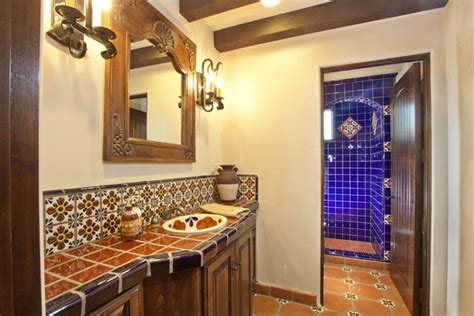 mexican tile bathroom designs mexican tiles in the interior richness of colors and