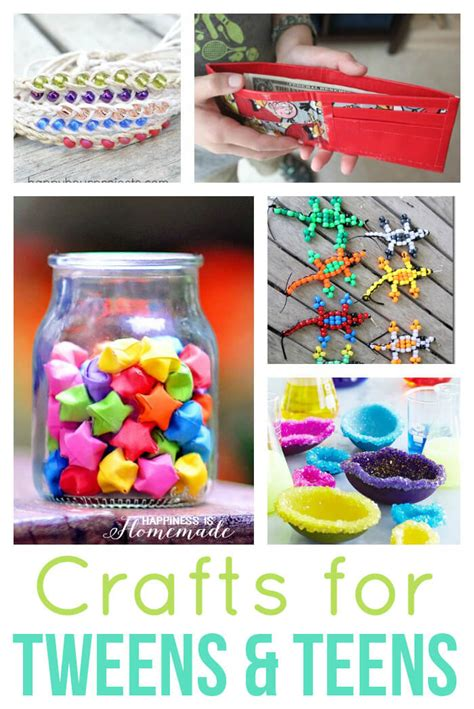 craft project ideas for teenagers 40 easy crafts for tweens happiness is