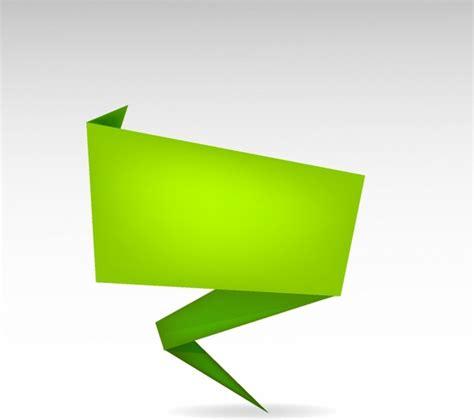 origami banner vector origami banner free vector in adobe illustrator ai ai
