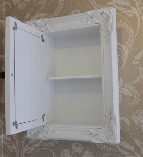 shabby chic bathroom cabinet with mirror white bathroom storage cabinet with mirror shabby vintage