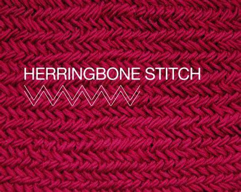 knit herringbone stitch herringbone stitch diy