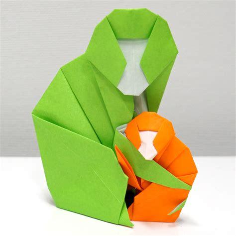 how to make a origami monkey origami monkey comot