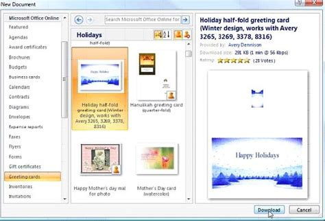 make a card with word make greeting cards in word 2007 a about software
