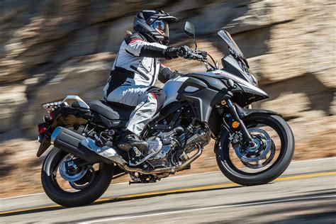 Suzuki Vstrom by 2017 Suzuki V Strom 650 And 650xt Review 10 Fast Facts