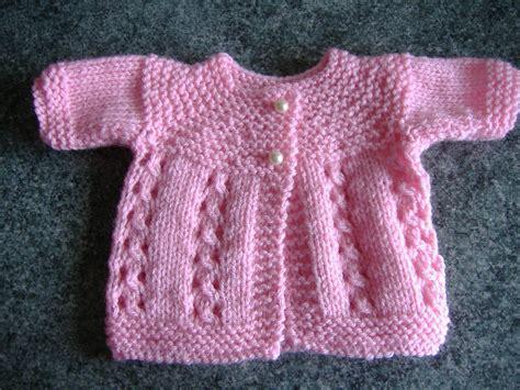 baby knitted jackets marianna s lazy days premature baby jackets
