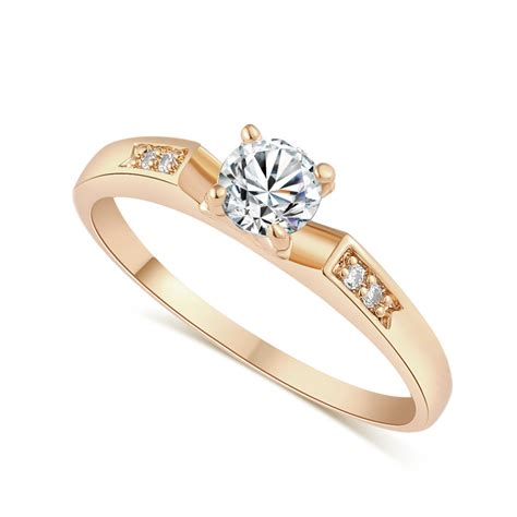 rings for jewelry j1685c jewelry wedding ring 18k gold plated