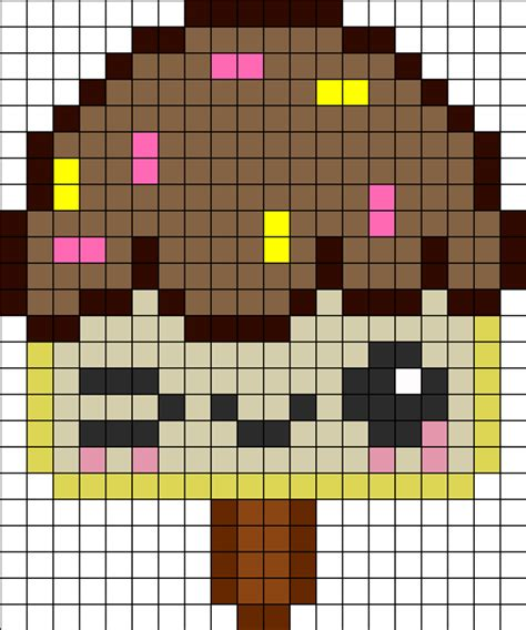 kawaii perler bead patterns kandi patterns for kandi cuffs food pony bead patterns