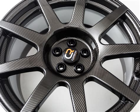 Porsche Carbon Fiber Wheels by Carbon Revolution Carbon Fiber Staggered Cr 9 Wheel Set