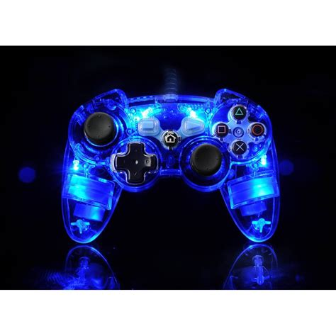 lights with controller ps3 afterglow light up controller official new ebay