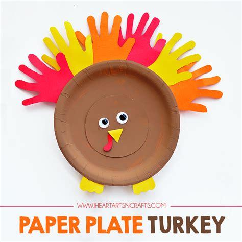 paper plate turkey craft for paper plate turkey craft i arts n crafts