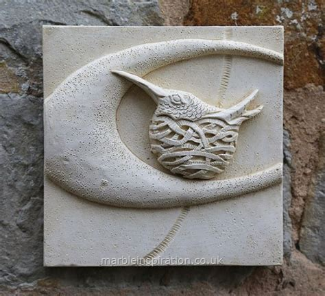 garden wall plaques hummingbird wall tile bird design garden wall plaque