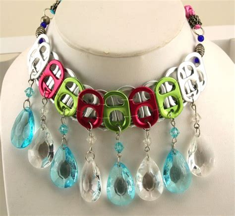 pop tab crafts projects keep calm and craft on soda tab choker necklace and