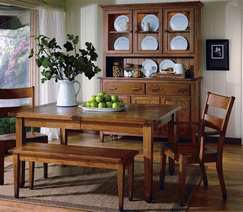country dining room table sets introducing the canterbury hardwood country dining set