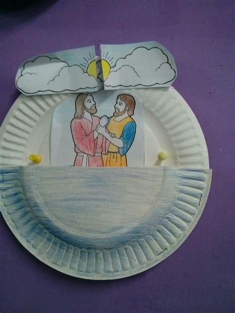 baptism crafts for to make 25 best jesus baptism craft ideas on