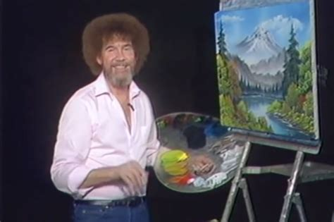 bob ross painting real 10 who served in the