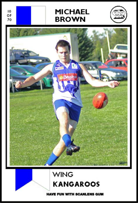 make your own footy card resource footy cards templates bigfooty afl forum