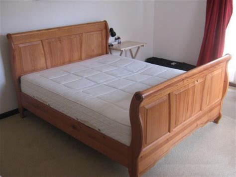 bed sale size sleigh bed with mattress for sale for sale in