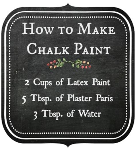 chalkboard paint how to make chalk paint furniture decorates