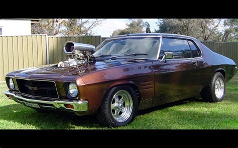 Car V8 Wallpaper by Cars Australia Supercharged V8 Engine Holden Hq Gts Monaro