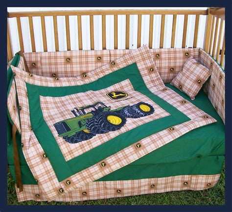 deere crib bedding sets for boys sale new 7 deere crib bedding set with large