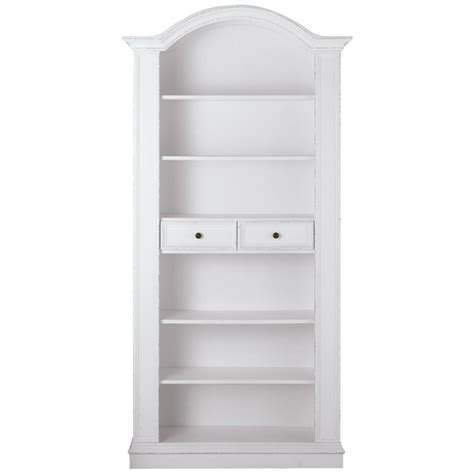 antique white bookshelves home decorators collection montego white open bookcase