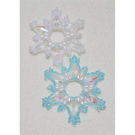 beaded ornament pattern snowflake 14 beaded ornament pattern bead patterns by