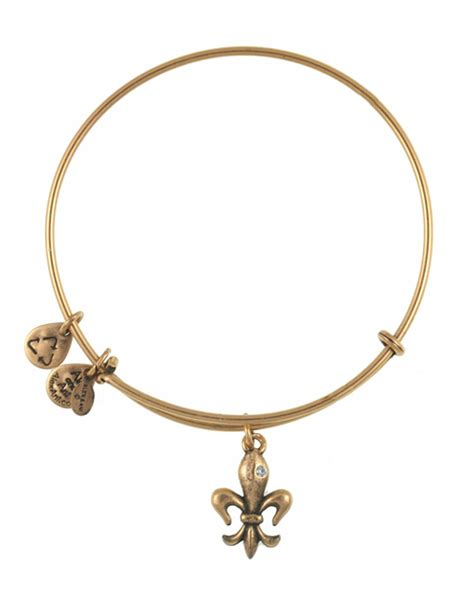 alex and ani alex and ani royalty bangle in metallic lyst
