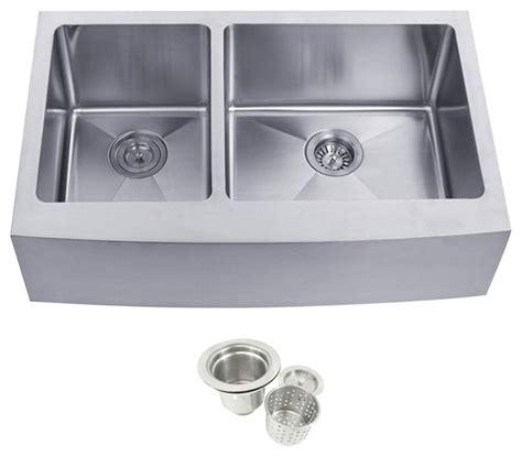 40 kitchen sink stainless steel undermount farmhouse 40 60 bowl