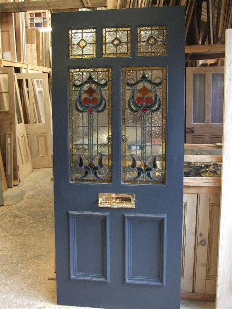 stained glass for front doors stained glass front door log cabin ideas