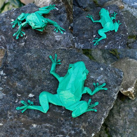 origami tree frog this week in origami july 10 2015 edition