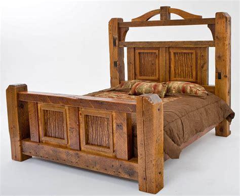 timber bed frames timber frame bed barnwood beams unique design