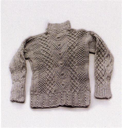 knit fisherman sweater the thing fisherman knit sweater
