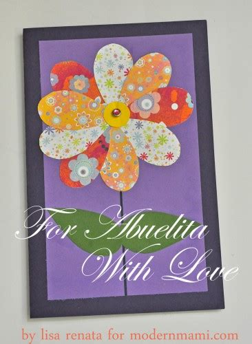 make mothers day card s day card for abuelita craft modernmami