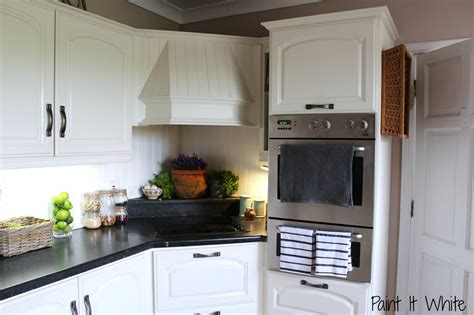 white painted kitchen cabinets remodelaholic beautiful white kitchen update with chalk