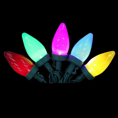 color changing c9 led lights lightshow 12 light led multi color color changing c9 light
