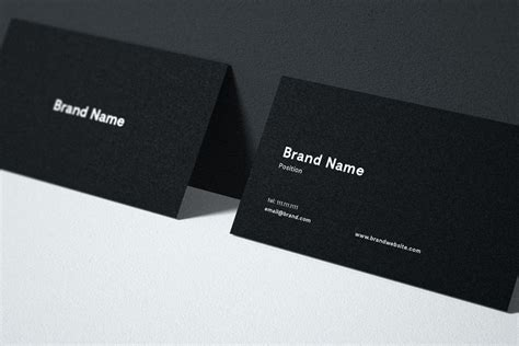 free business card mockup free design resources